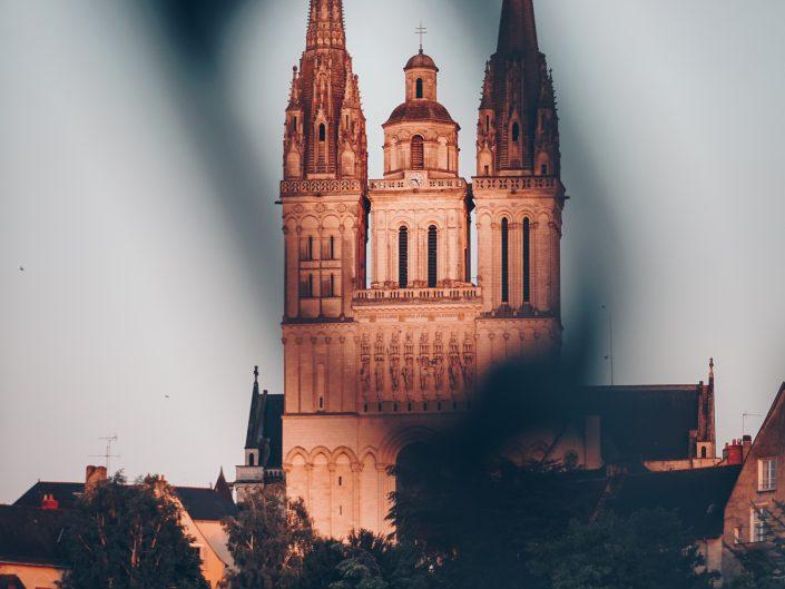 Angers : Cathédrale Saint Maurice