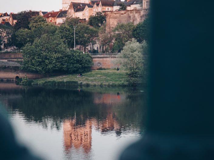 Angers : Quai des Carmes