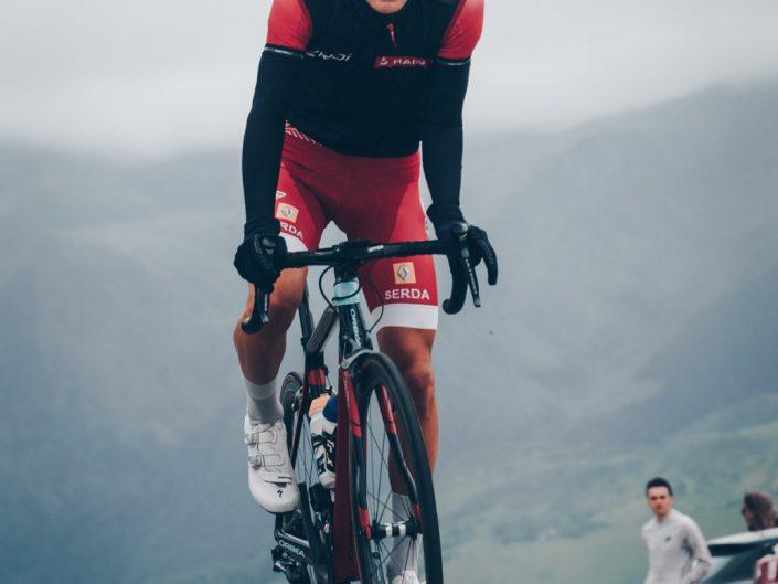 Alexandre Brisard au sommet du Soulor