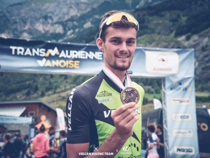 Thomas Champion 3ème du Championnat de France Marathon VTT