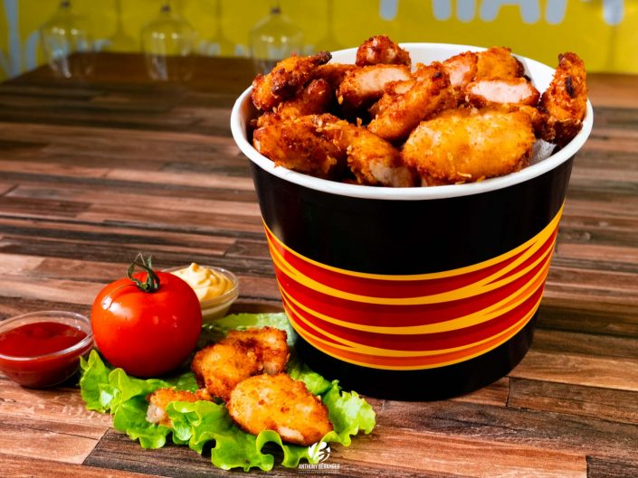 """Shooting """"food"""" bucket - Maison Poulet Frites Angers"""