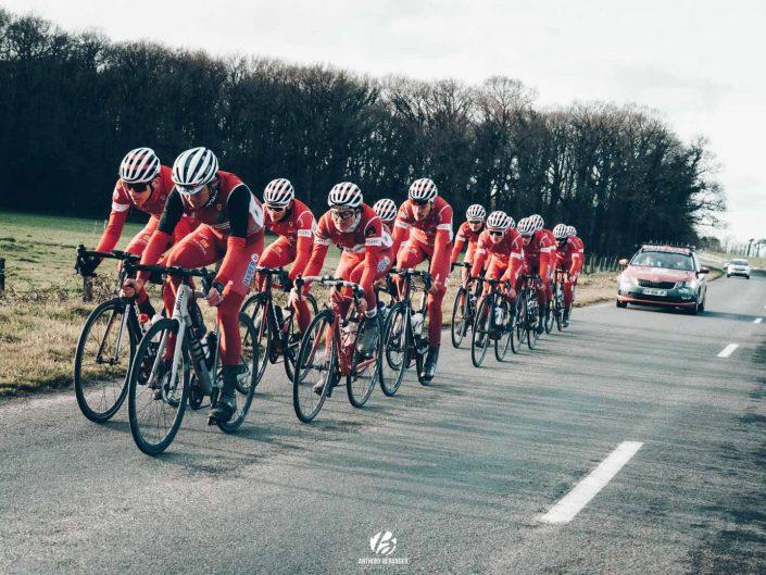 Shooting photos cyclisme avec le Vélo Sport Valletais