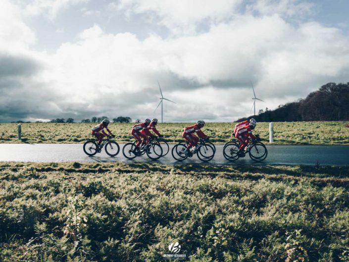 Stage du Vélo Sport Valletais en Bretagne